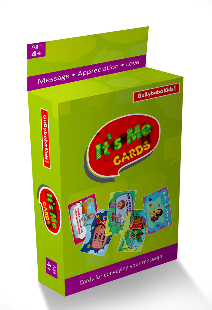 It's Me Educational Cards Game