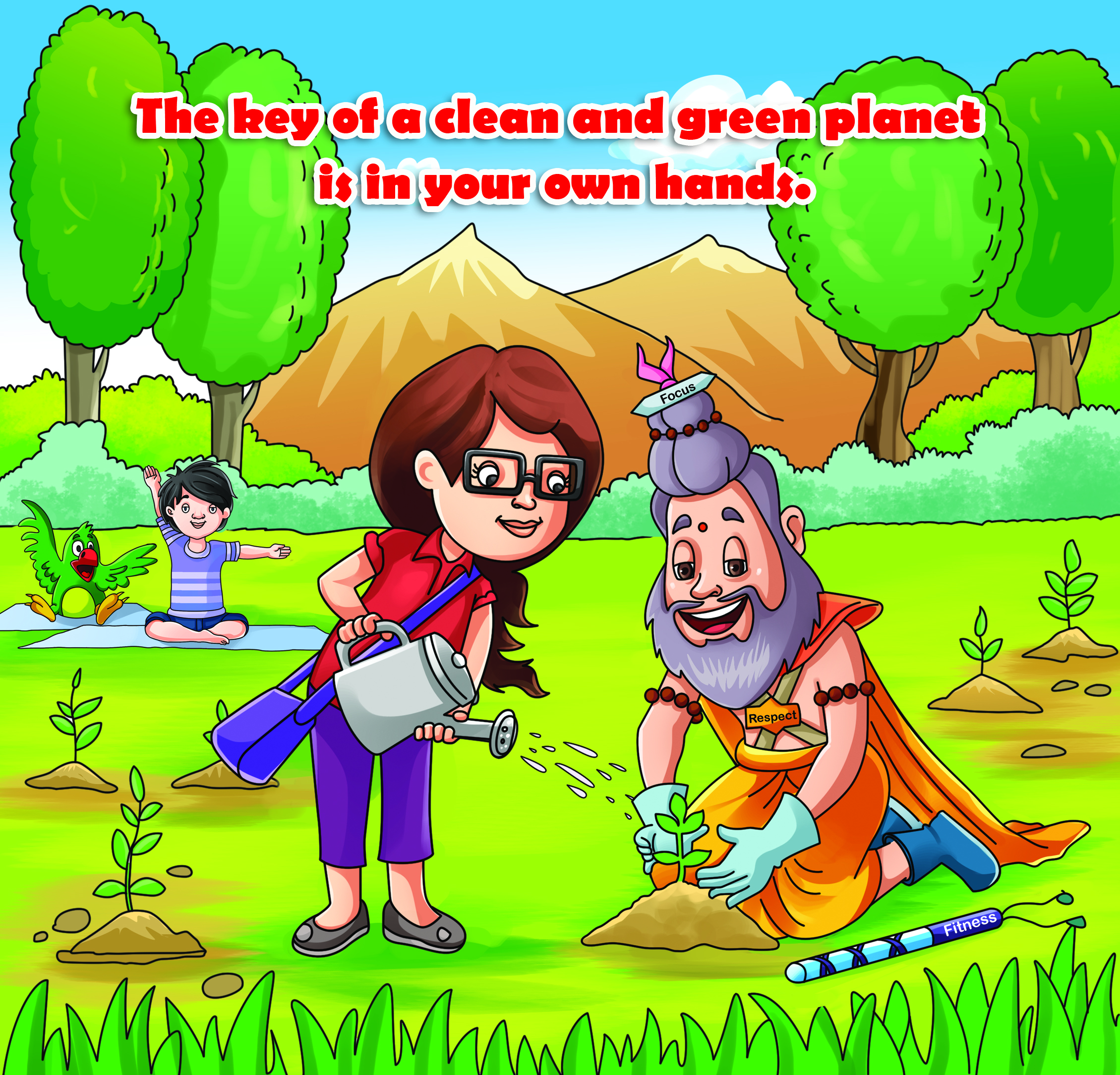"""Environmental Awareness"" Puzzle Games for kids Is available on Gullybabakids.com"